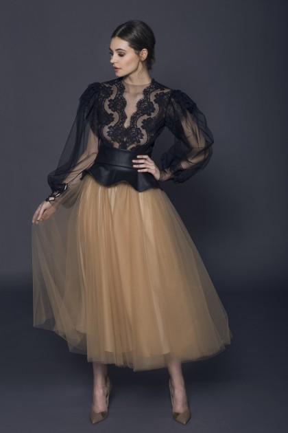 TULLE VOLUME SKIRT