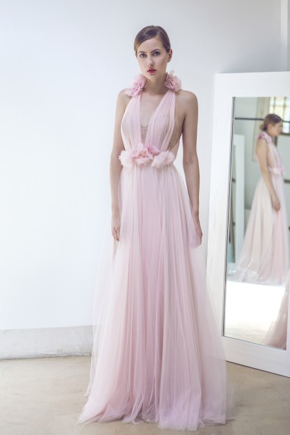 FAIRY SOFT PINK TULLE AND BODICE GOWN